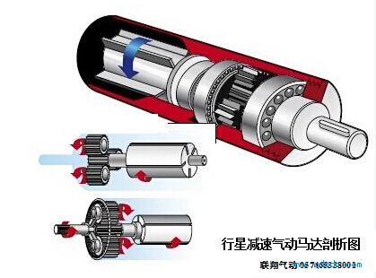 气动马达结构爆炸剖析图图片