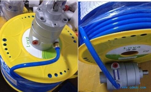 氣動馬達安裝對進氣、流量、氣壓等要求