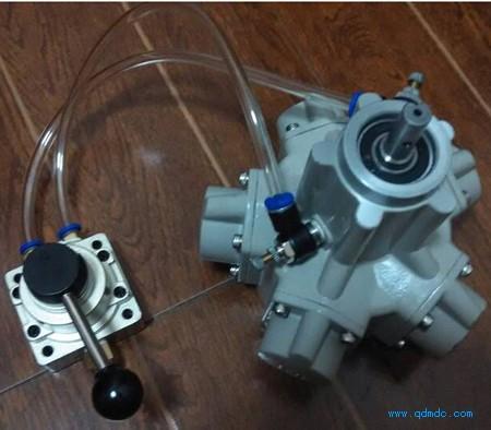 气缸接线实物图